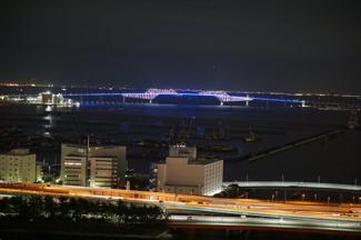 物件から東京ゲートブリッジが望めます。