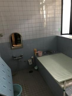 【浴室】高島市今津町保坂 店舗付住宅