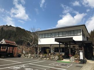 【外観】高島市今津町保坂 店舗付住宅