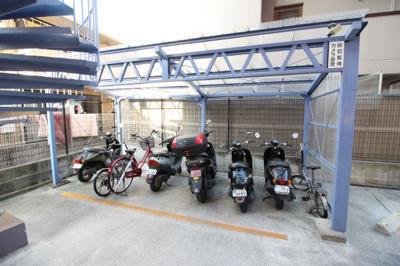 ☆バイク置き場☆