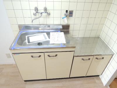 【キッチン】マンション大和