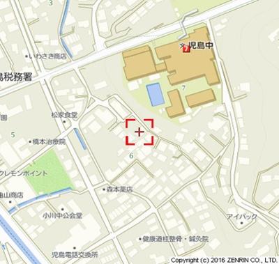 【地図】アンソレイエ松家