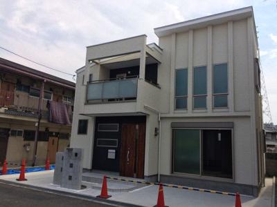 【外観】寺田町新築一戸建て