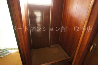 【玄関】寺原貸家