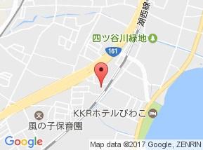 【地図】グレースコートファインⅡ
