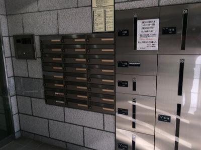 スカイコート恵比寿のメールボックス、宅配ボックスです。