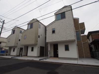 【外観】西区東久保町全3棟 新築戸建て