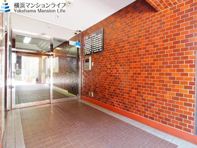 【エントランス】ライオンズマンション横浜第弐A館