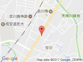 【地図】パレス堅田