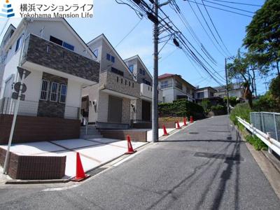 【前面道路含む現地写真】西区宮ヶ谷全3棟 新築戸建て