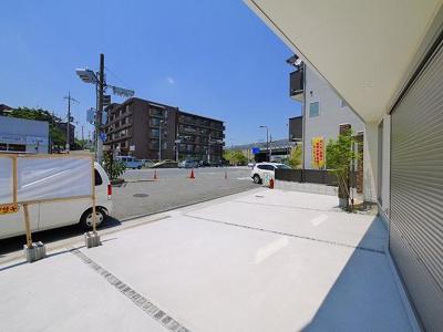 【駐車場】生駒市辻町店舗(243-37)