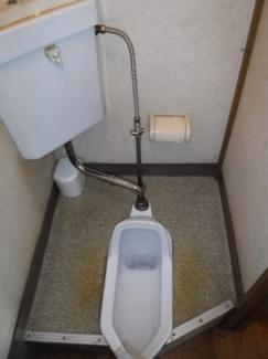 【トイレ】野田屋貸し店舗(倉庫)