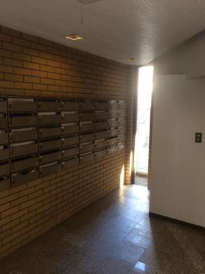 南平台サニーハイツのメールボックスです。