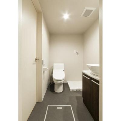 アンジュール検見川のトイレ