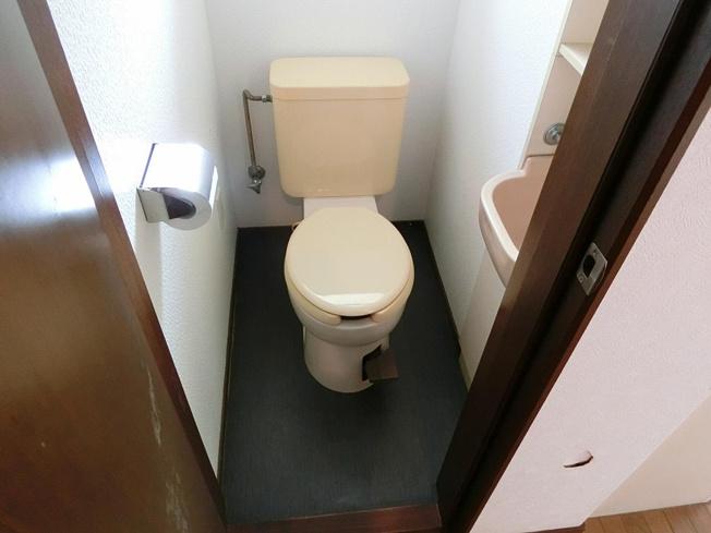 法善寺3丁目4DK貸家 お手洗い