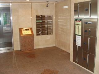 シンシア渋谷のメールボックス、宅配ボックスです。