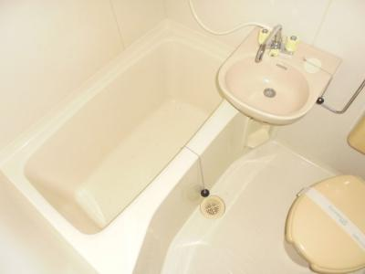【浴室】トシマハイツ