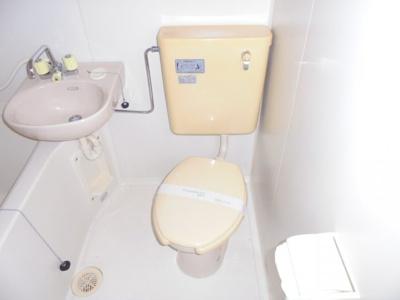 【トイレ】トシマハイツ