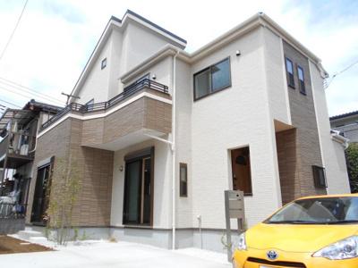 【外観】北本 西高尾8丁目 全1棟 デザイン住宅 36坪