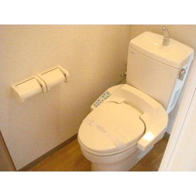 リバパレス稲毛のトイレ