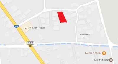 【地図】南多田分譲地