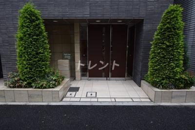 【エントランス】パークリュクス日本橋小網町mono
