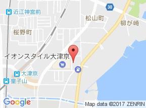 【地図】リベルタ大津京