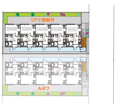 【区画図】リアナ西新井