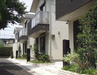 世田谷区上北沢一丁目の戸建C棟 現地写真