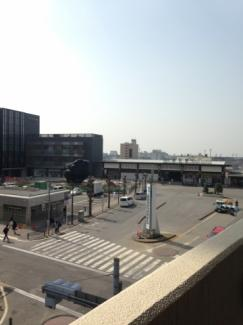 JR成田駅が見えます