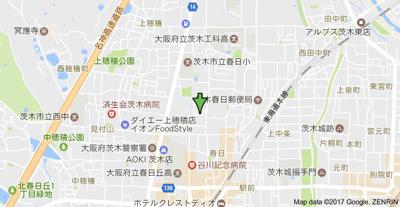 【地図】ルミエール春日3
