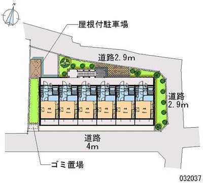 【区画図】コートヤヒロⅡ