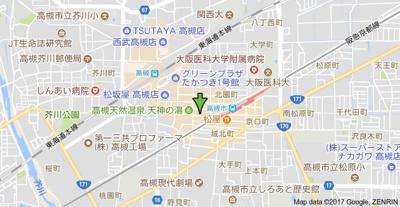 【地図】箕輪第一ビル㈱Roots