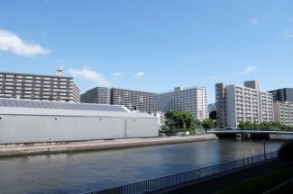 コスモ・ザ・キャナル東京イースト 北西側