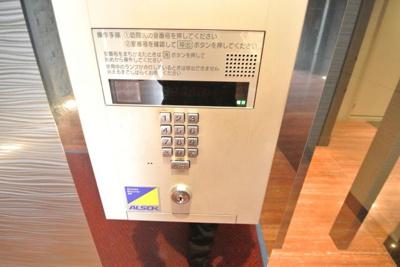 【セキュリティ】S-RESIDENCE北浜