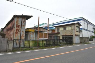 【外観】北本市深井5丁目 事業用売地(工場・住宅・倉庫用地)