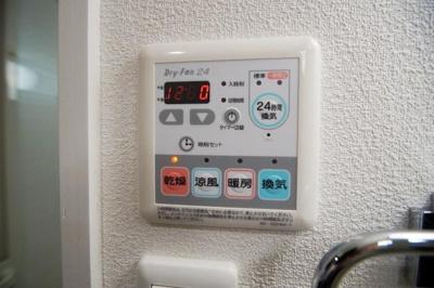 グランフォーレ薬院南(1DK) 浴室乾燥機(写真は別のお部屋のものです。)