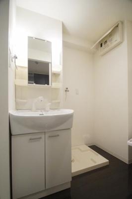 グランフォーレ薬院南(1DK) 独立洗面台(写真は別のお部屋のものです。)