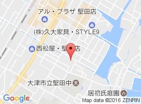 【地図】レイクヴュー堅田