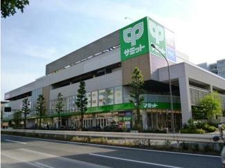 東京都世田谷区桜丘4丁目新築戸建C号棟 近くにサミットがあります。