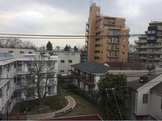 世田谷区南烏山4丁目 新築戸建 A号棟 ルーフバルコニーからの眺望