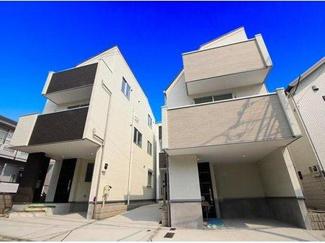 世田谷区若林5丁目 新築戸建て B号棟 現地