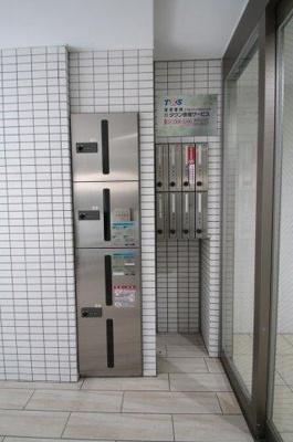 メールボックス・宅配ボックス完備 アリビオ両国