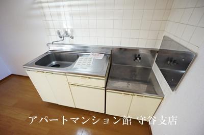 【キッチン】シティハイツ松前台A