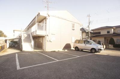 【駐車場】シティハイツ松前台C