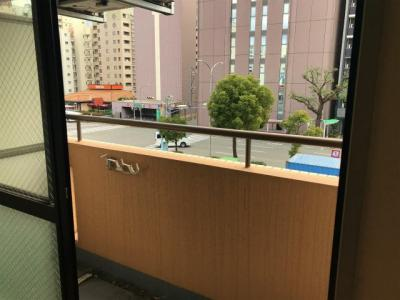 【バルコニー】ライオンズプラザオータニ神戸