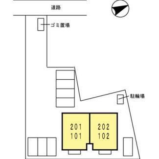 【区画図】アヴァンサール 栄