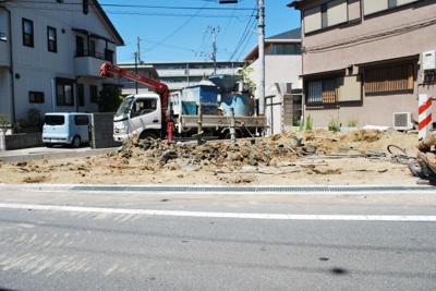 【外観】寝屋川市中木田町 新築一戸建