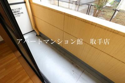 【バルコニー】リバティーハイツ・エビハラ