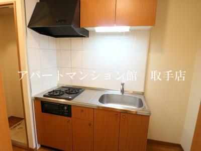 【キッチン】リバティーハイツ・エビハラ
